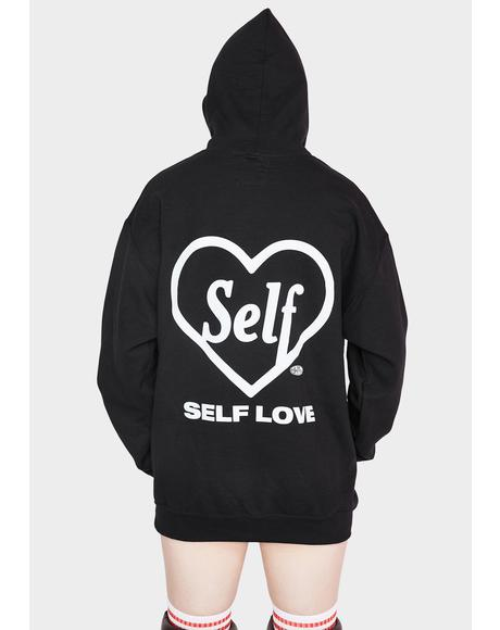 Self Lover Graphic Hoodie Sweatshirt