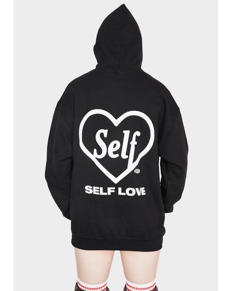Self Lover Graphic Hoodie Sweatshirt