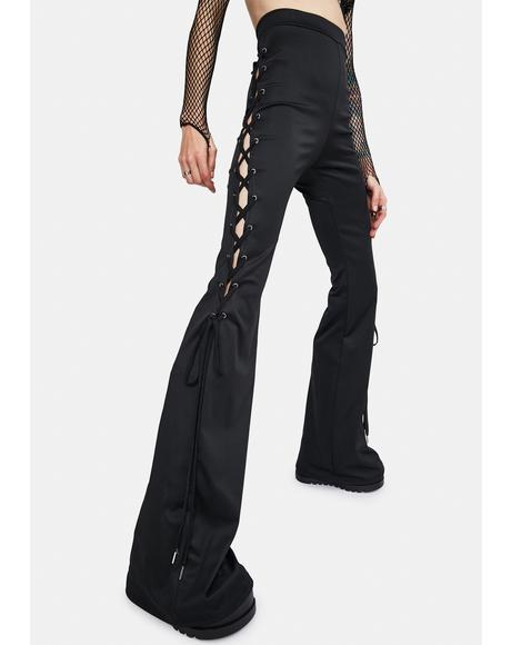 Friends To The End Flare Pants