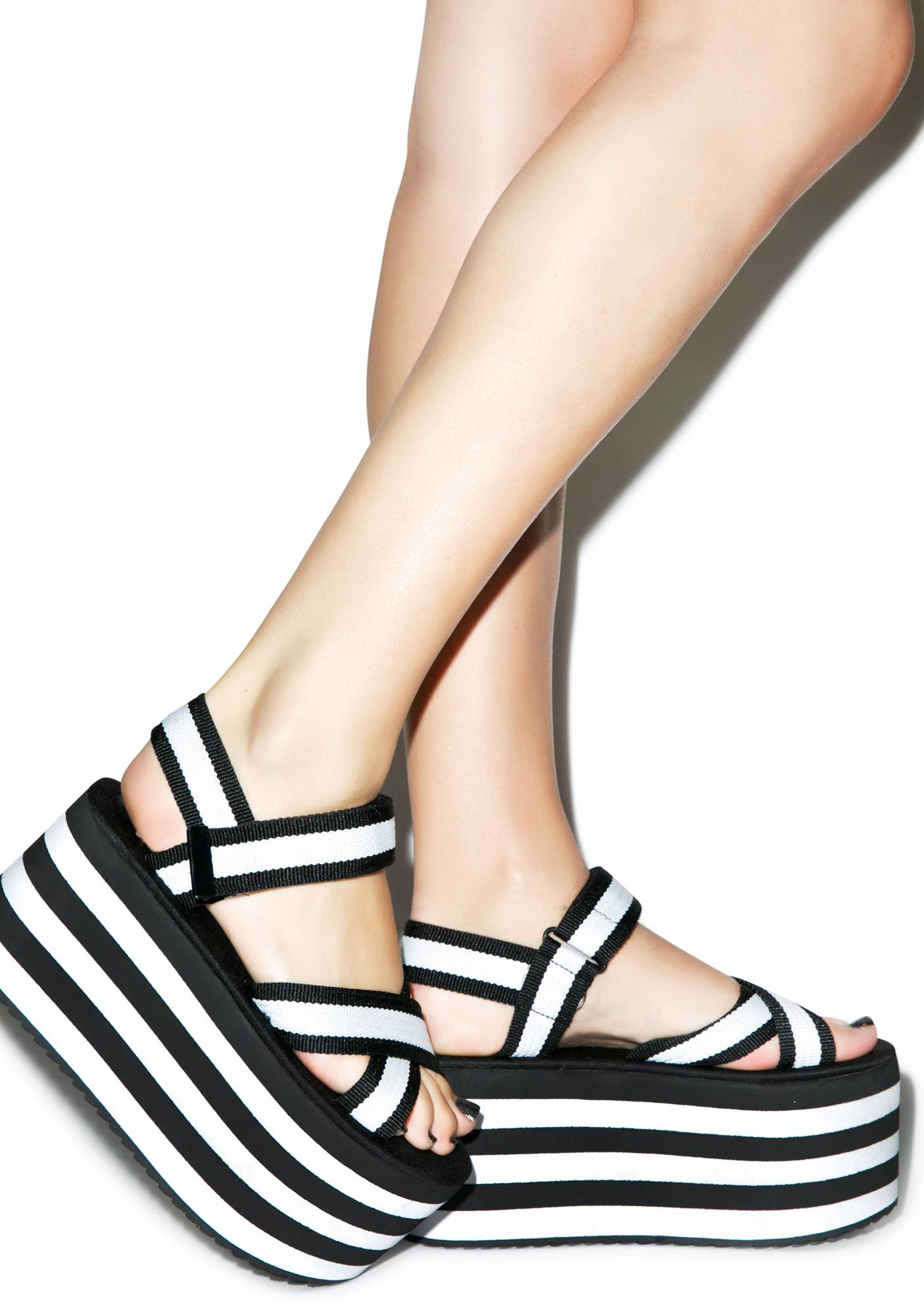 Y.R.U. Black & White Prizm Platforms