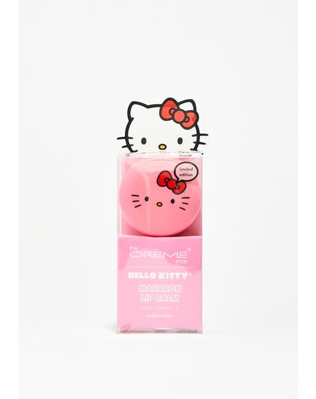 Hello Kitty Cake Macaron Lip Balm