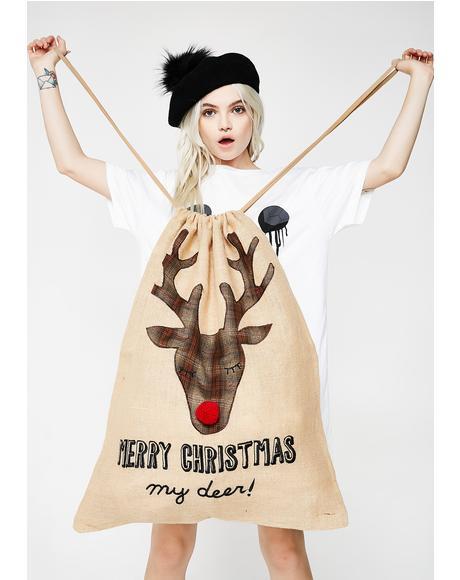 Merry Xmas Present Sack