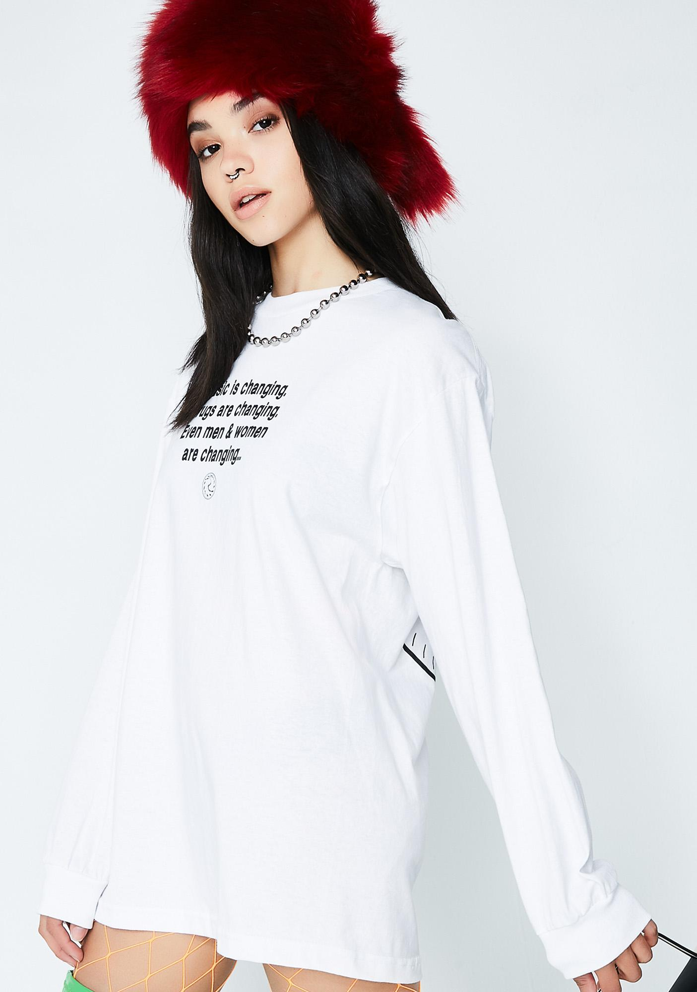 Pleasures Time Long Sleeve