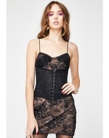Sonia Corset Mini Dress