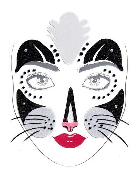 Tiger Temptress Face Jewels