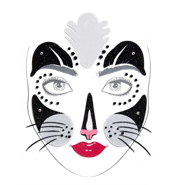 Love And Madness Tiger Temptress Face Jewels