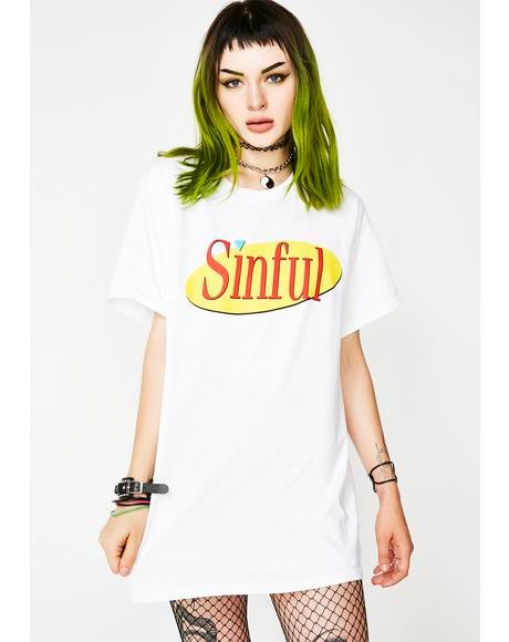 Sinful Short Sleeve Tee