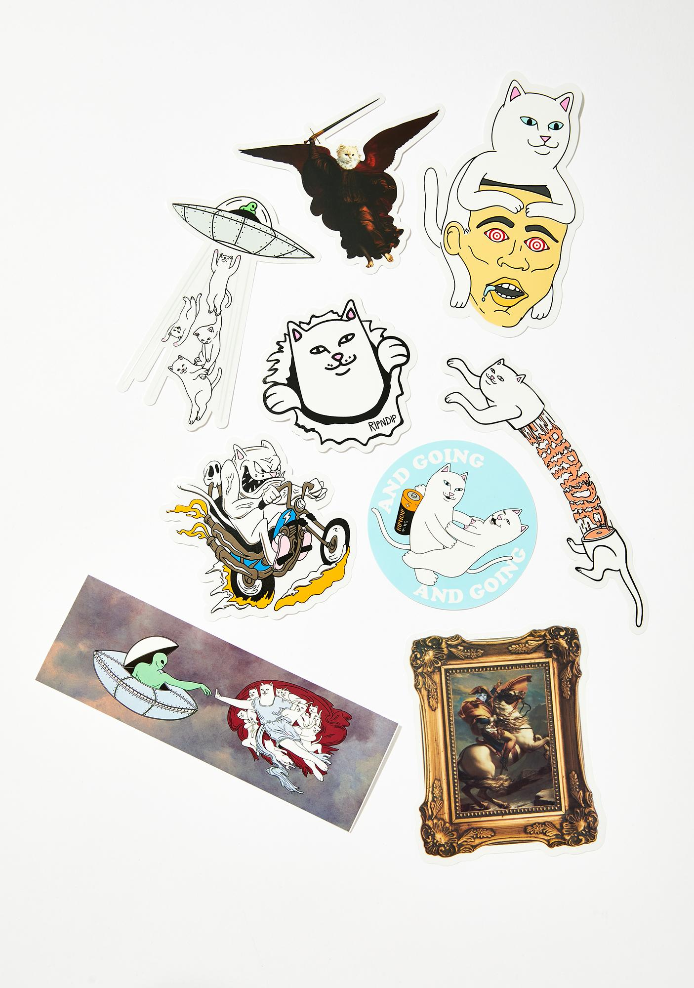 RIPNDIP Sticker Pack