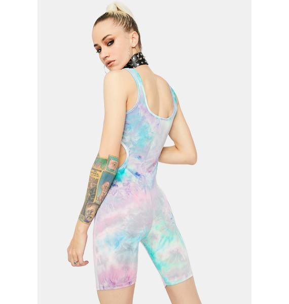 Prism Bound Cut-Out Romper
