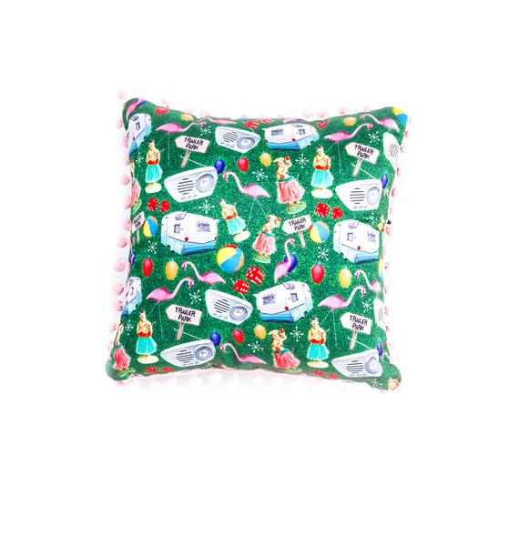 Sourpuss Clothing Trailer Trash Pillow