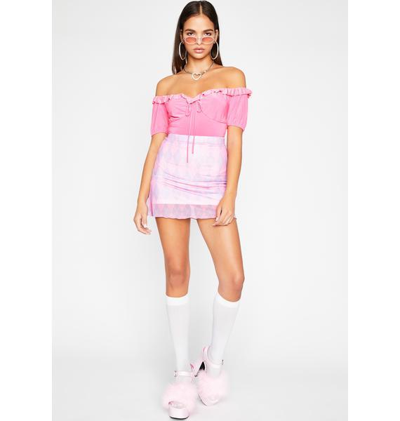 Be A Doll Ruffle Bodysuit
