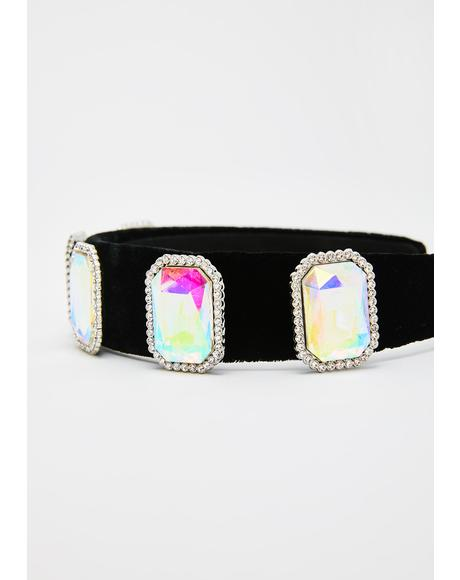 Holographic Princess Jewel Headband