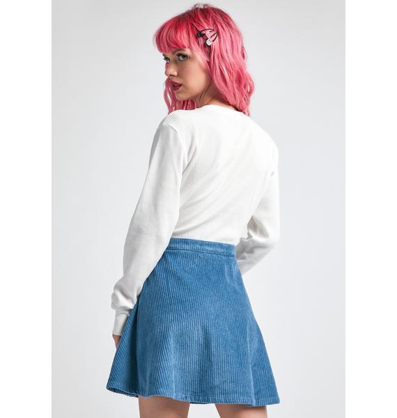 dELiA*s by Dolls Kill Doom Crew Skater Skirt