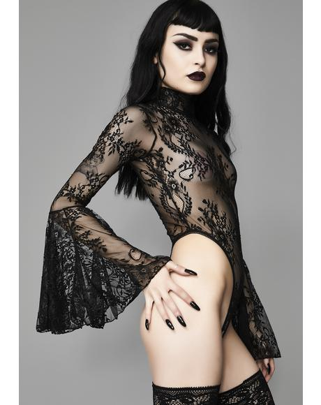 Witching Hour Lace Bodysuit