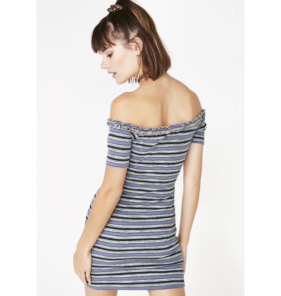 Everyone's Type Striped Dress