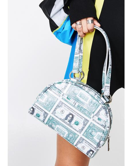 Money Moves Bowler Bag
