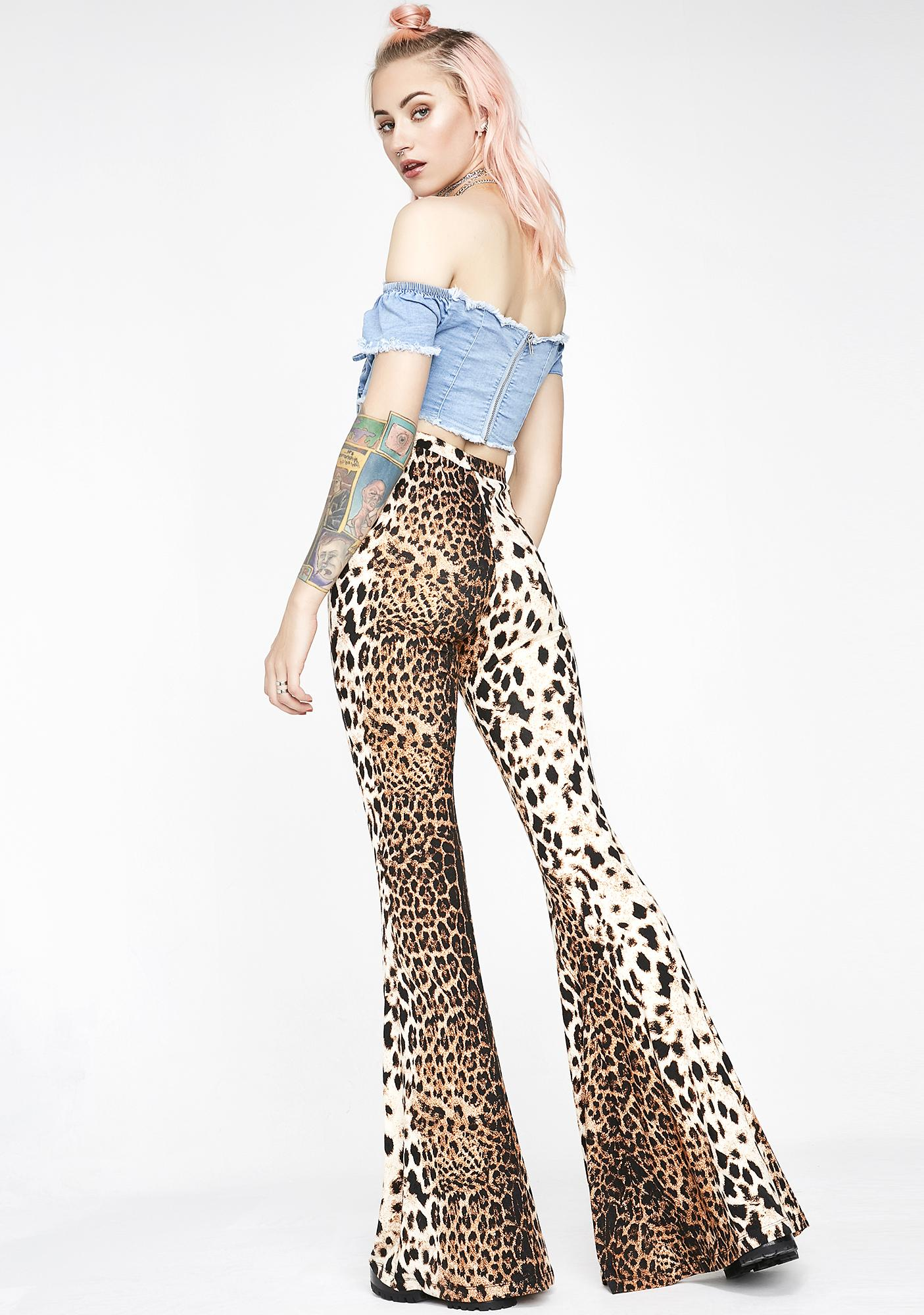 Disco Hunnys  Cheetah Bells