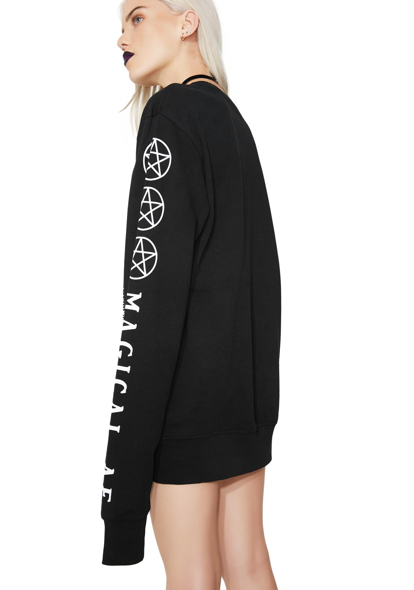 Killstar Magical AF Sweatshirt