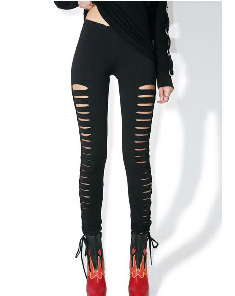 Side Cut-Out Leggings