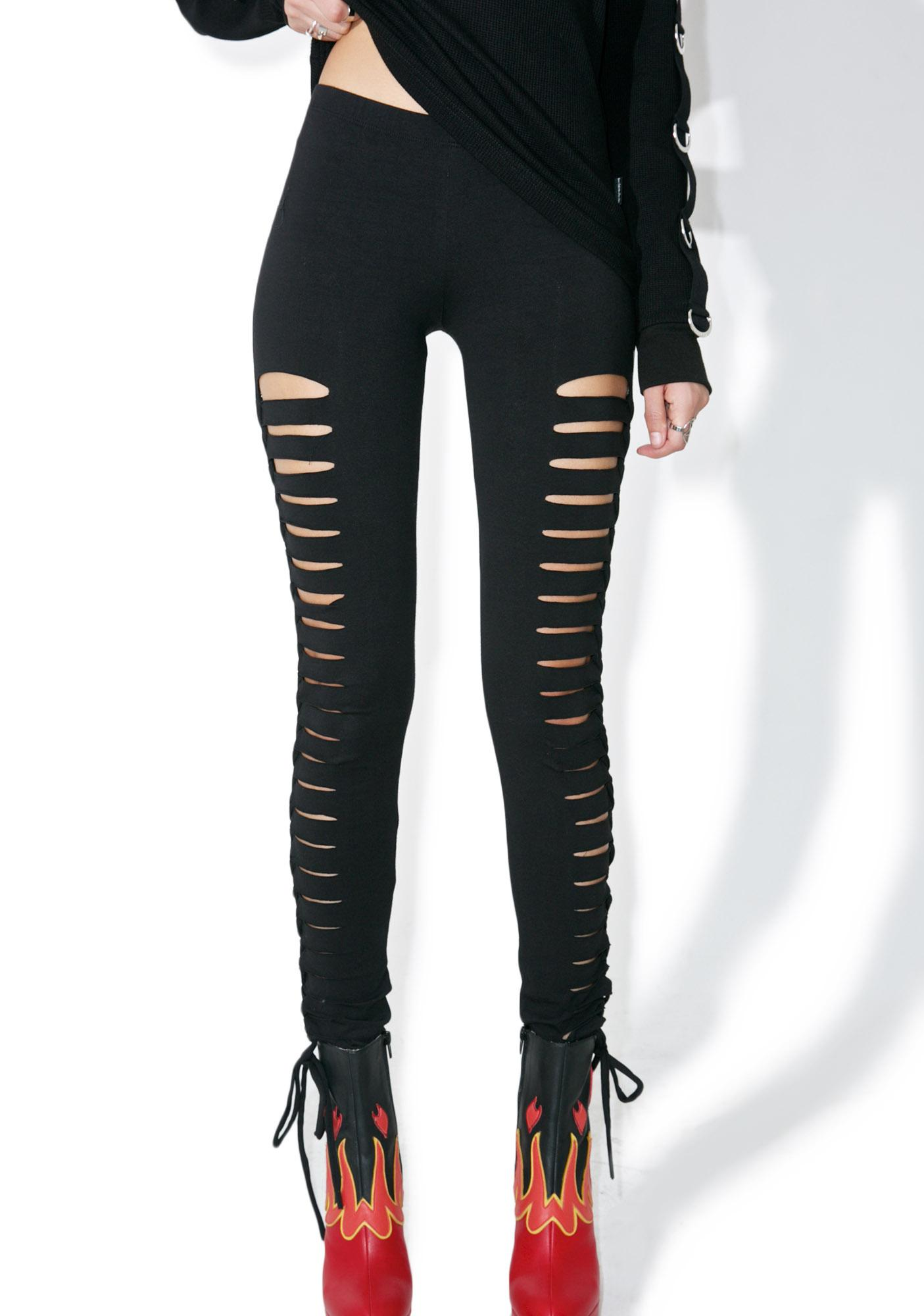 Tripp NYC Side Cut-Out Leggings
