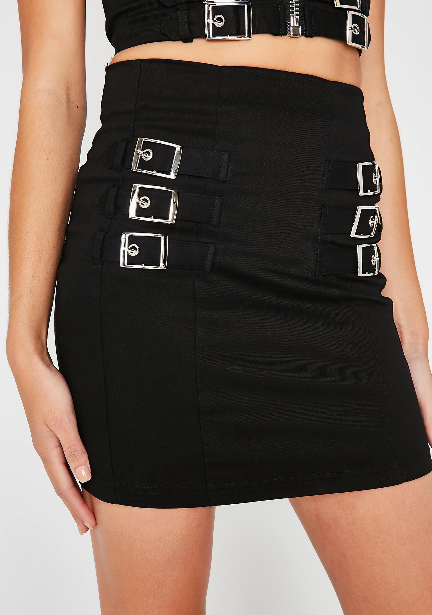 So Secure Mini Skirt