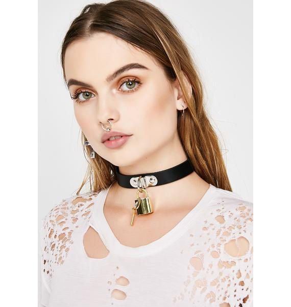 Pop N' Lock It Choker