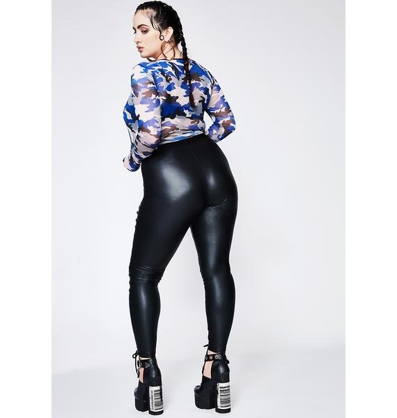 Current Mood Queen Nancy Corset Leggings