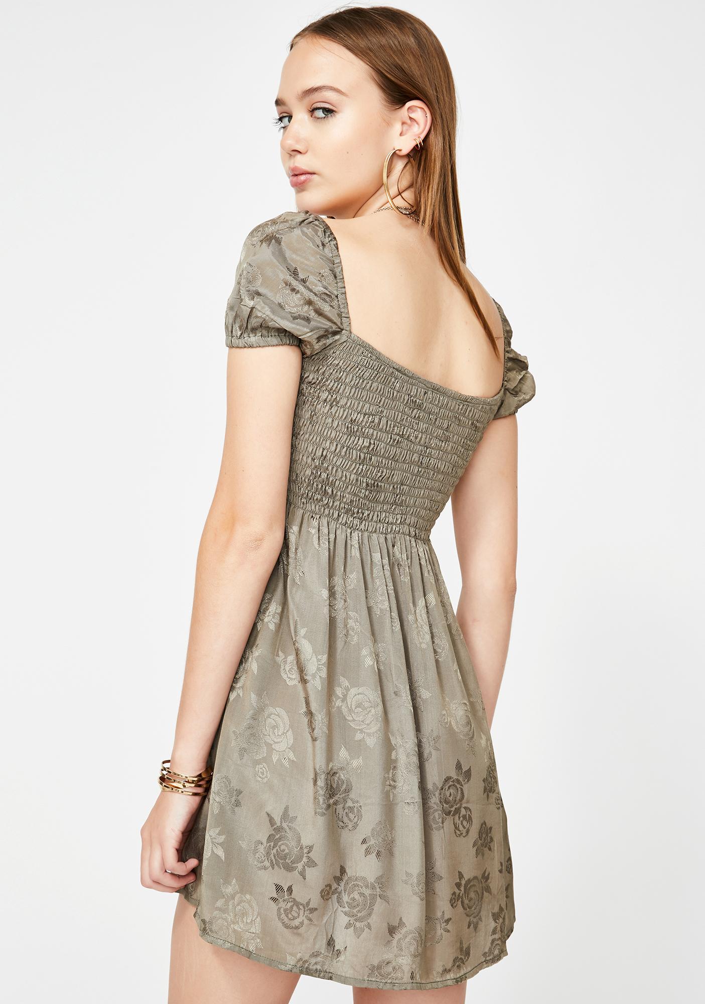 Motel Eldre Babydoll Dress