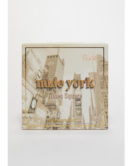 Nude York Face & Eye Palette