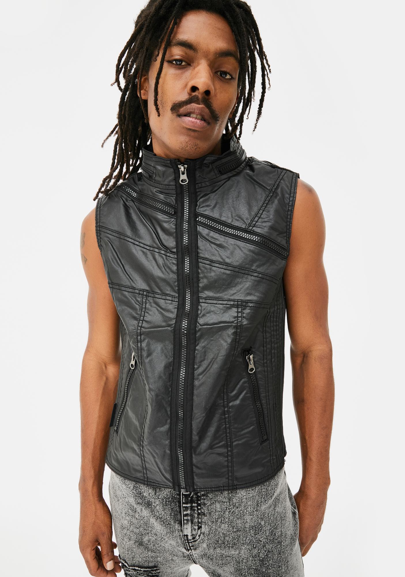 Equilibrium Clothing Geometric Vector Vest