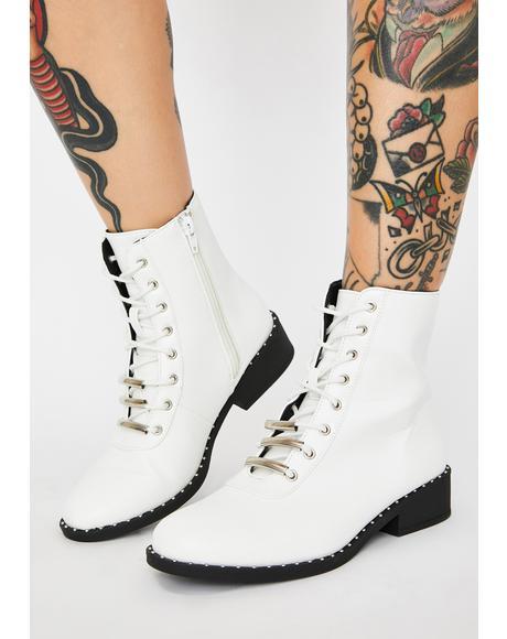 Innocent Bae Parade Combat Boots