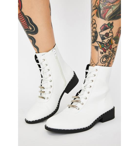 Innocent Bae Parade Combat Boots
