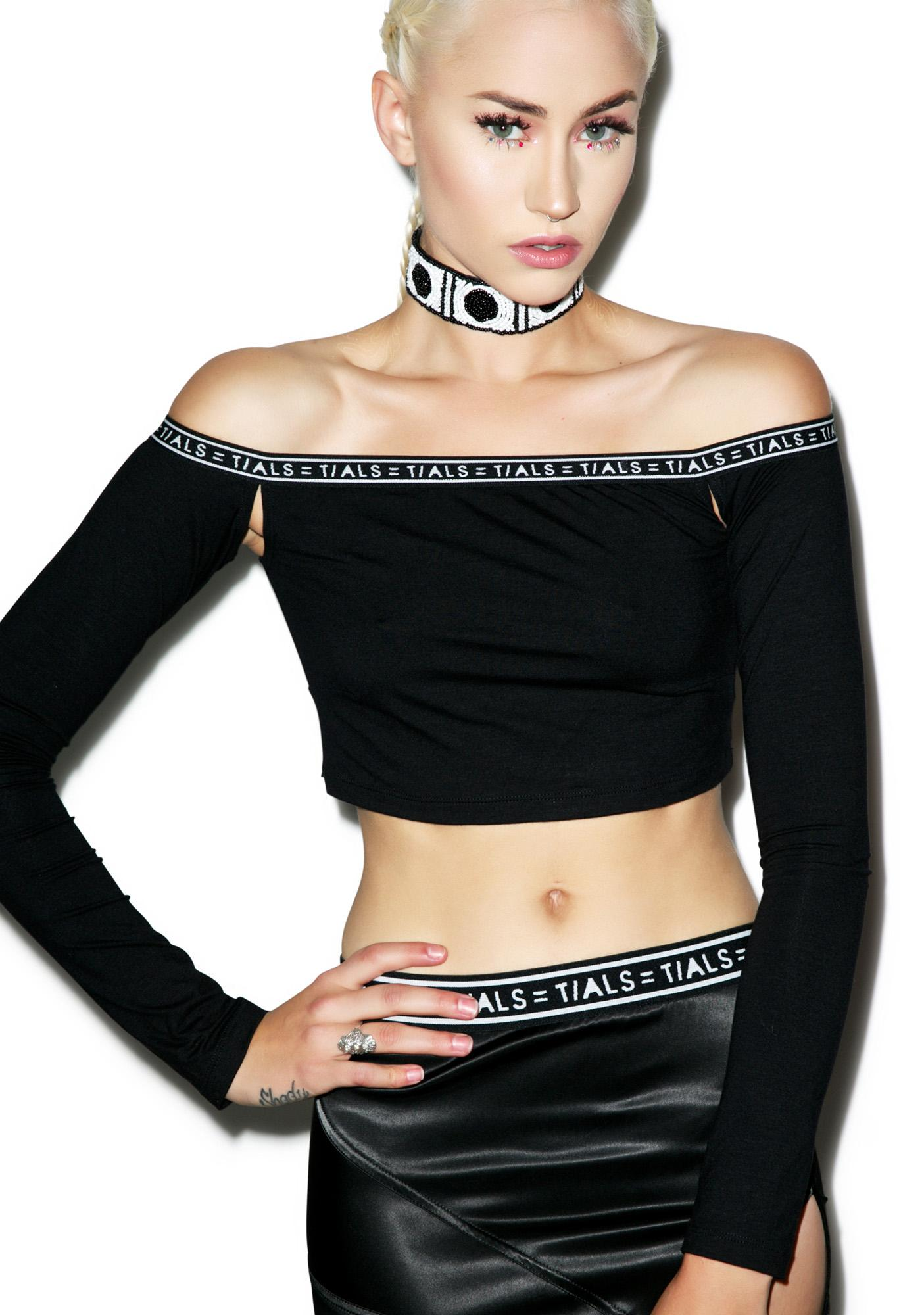 This Is A Love Song Pit Stop Crop Top