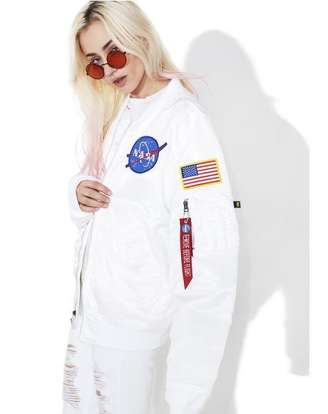 Icy L-2B NASA Flight Jacket