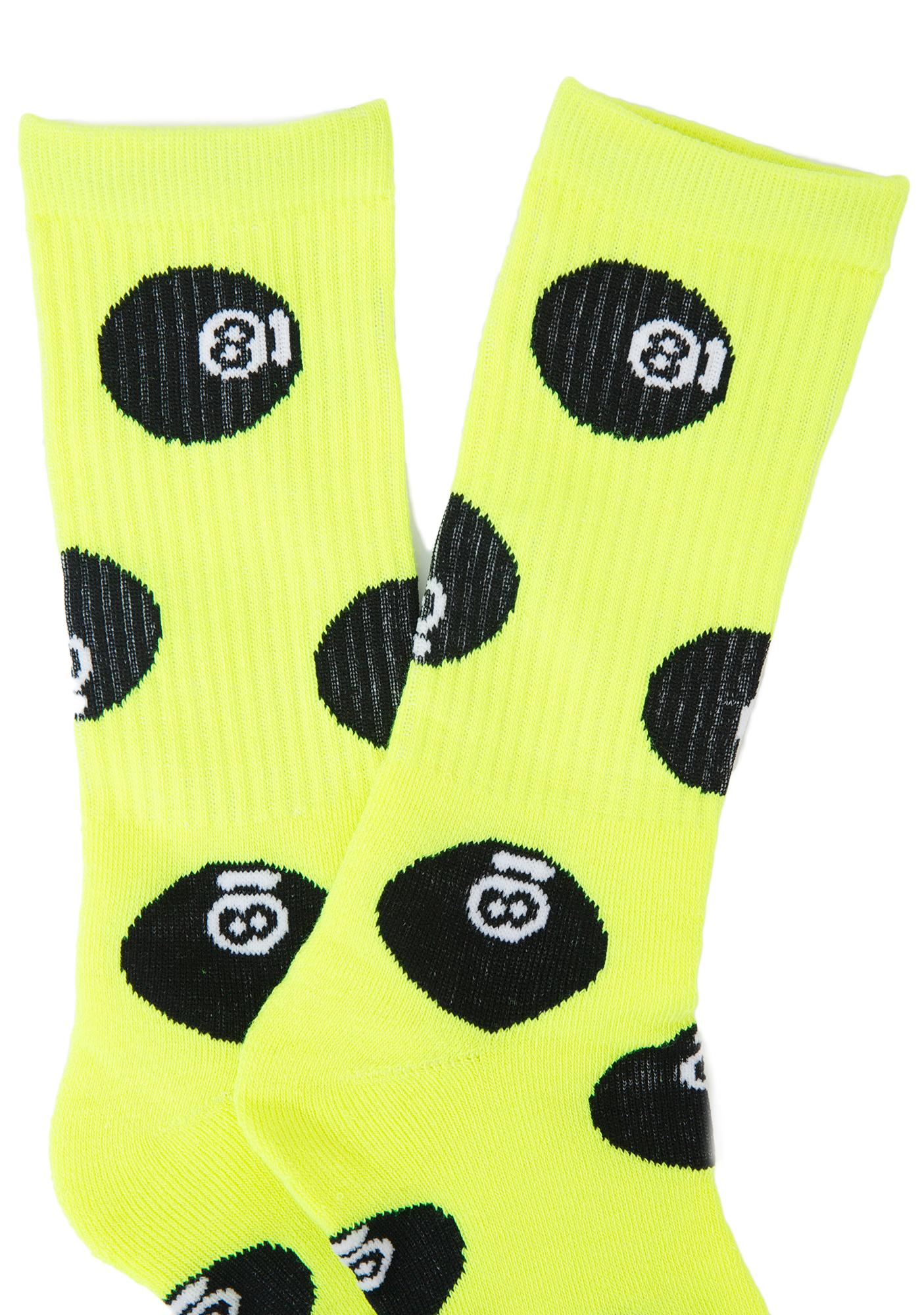 40s & Shorties 8 Ball Socks