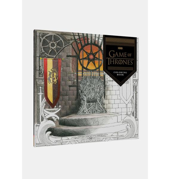 Game Of Thrones Coloring Book
