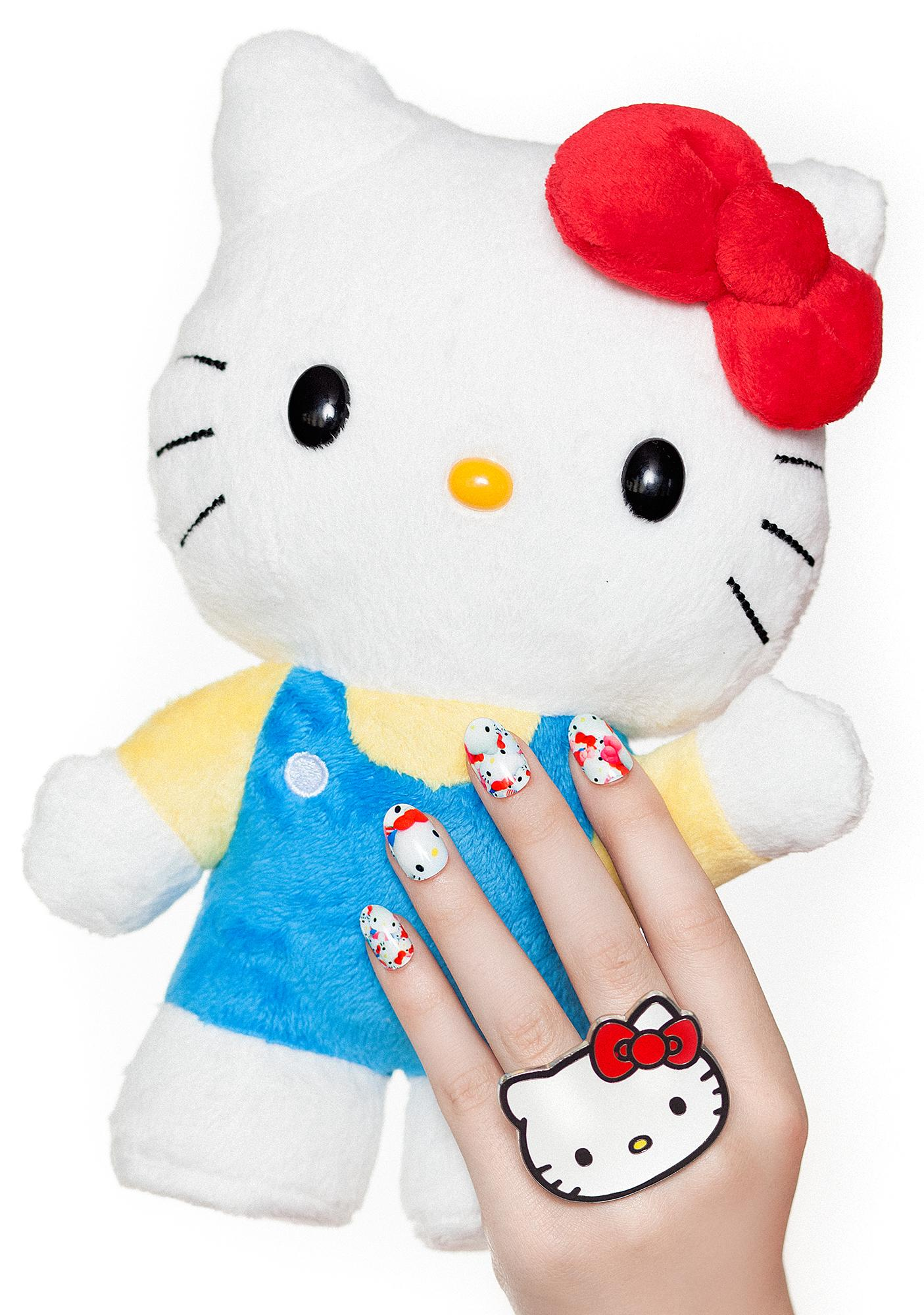 NCLA Hello Kitty Plush Nail Wraps