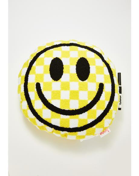 Smile For Me Autograph Pillow