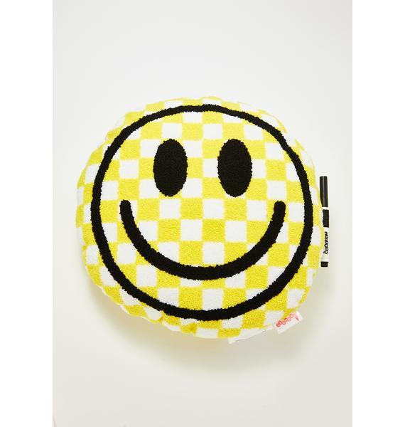 Smile For Me Autograph Pillow