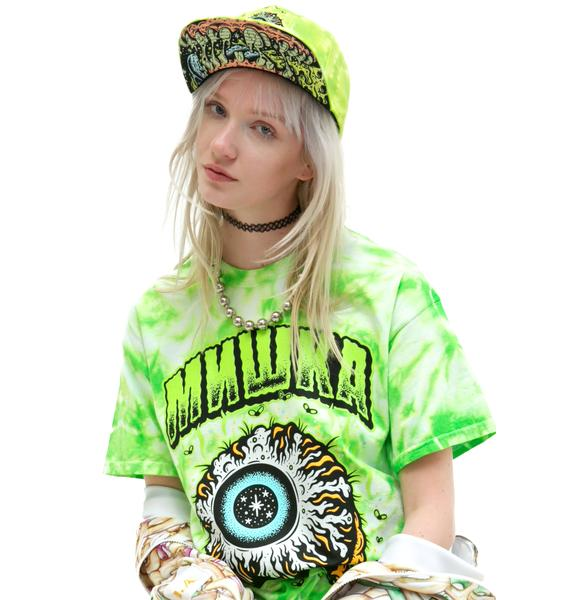Mishka Tall Boy Keep Watch Tie Dye Snapback