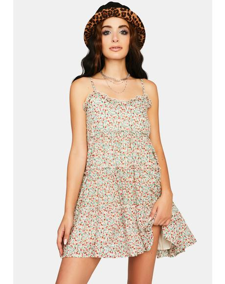 Give N' Take Floral Sundress