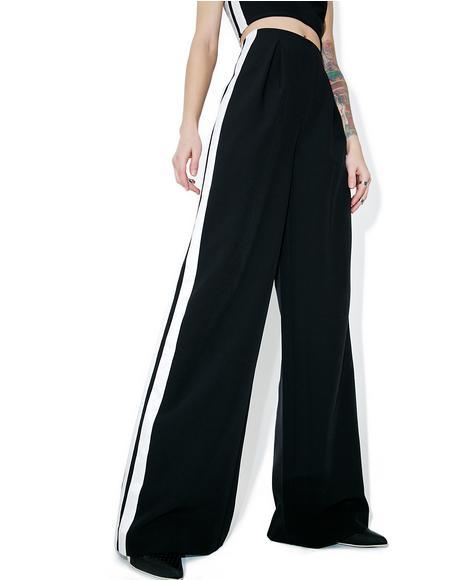 Track-Stripe Trouser