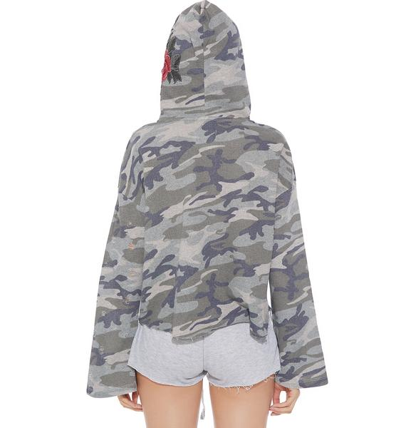 Caught Your Eye Camo Hoodie