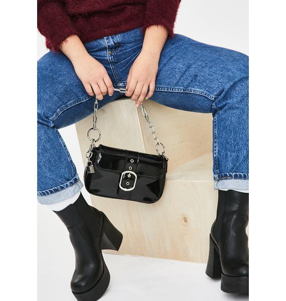 Current Mood Dean's List Patent Handbag