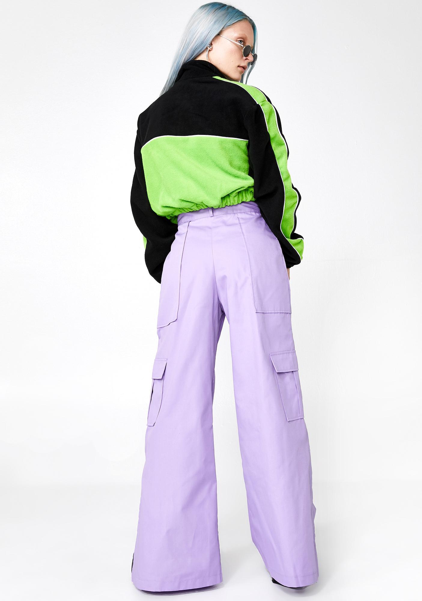 The Ragged Priest Lilac Edge Pants
