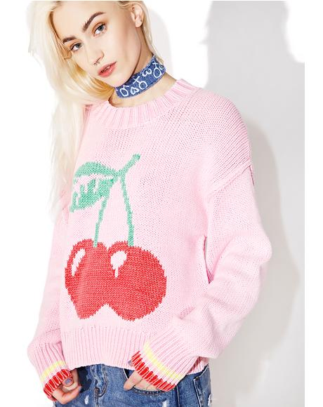 Cherries Sweater