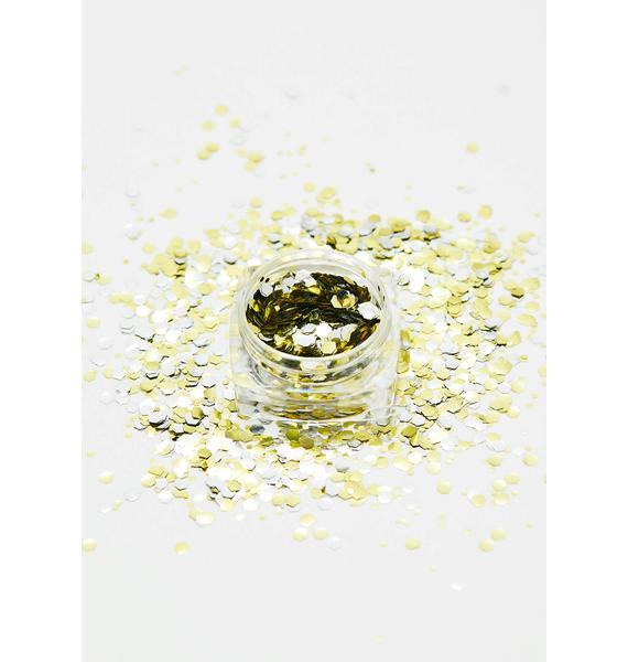 Glisten Cosmetics Biodegradable Chunky Ditteschaal