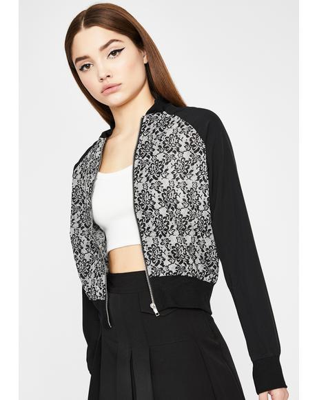 Delicate Diva Lace Jacket