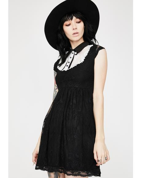 Agnes Lace Babydoll Dress