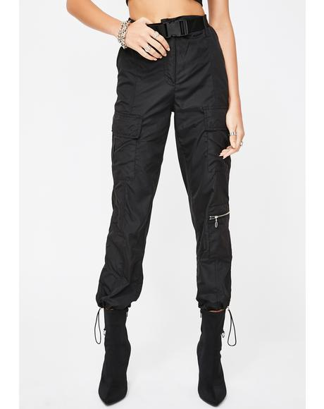Bookin' Flights Cargo Pants